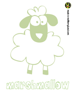 Marshmallow the Sheep