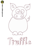 Truffle the Pig